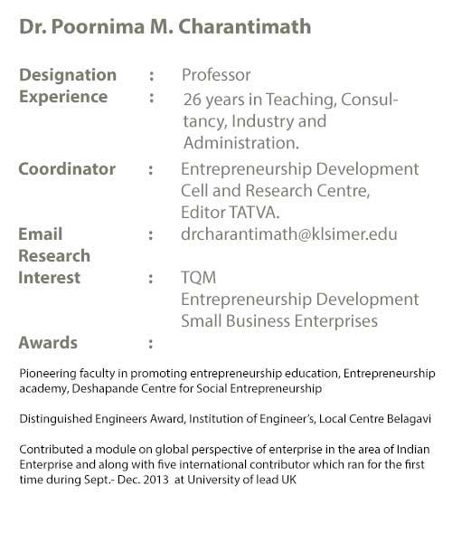 KLS IMER - Centre for Entrepreneurship Development